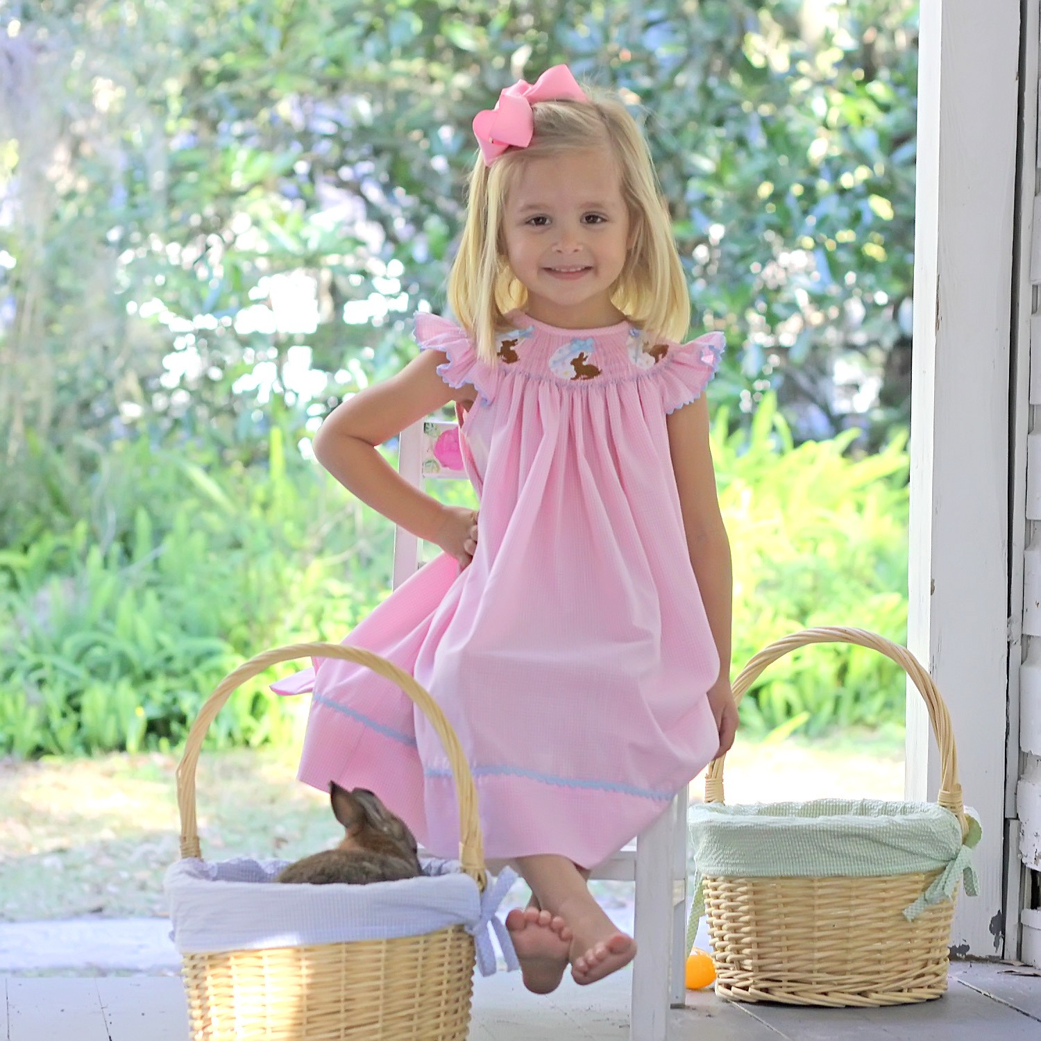 smocked easter dresses for babies  toddler girls